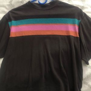 Free people rainbow tee